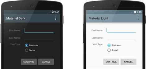 themes for non android styles and themes android developers