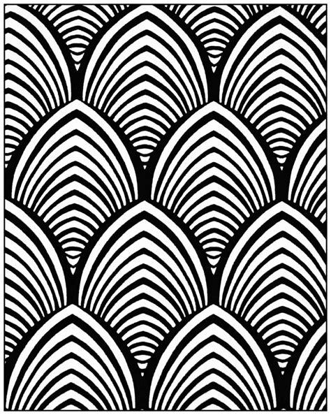 pattern line deco geometric patterns art deco 4 quot art deco quot coloring
