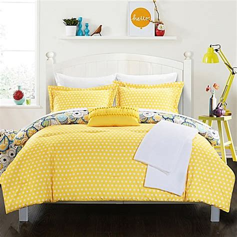 red and yellow comforter chic home premier comforter set bed bath beyond