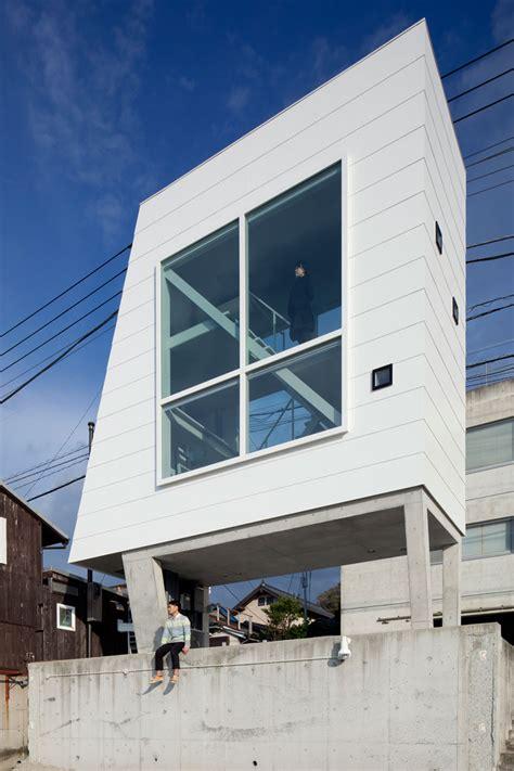 the drapery house vast openings expose window house by yasutaka yoshimura