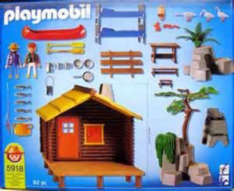 playmobil log cabin playmobil log cabin leisure play set toys