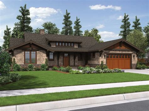 craftsman house plans daylight basement 2017 house plans