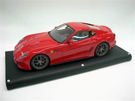 Ferrari 1 18 Models by Ferrari 599 Gto 2010 Rouge Mr Models 1 18 Sur La Boutique