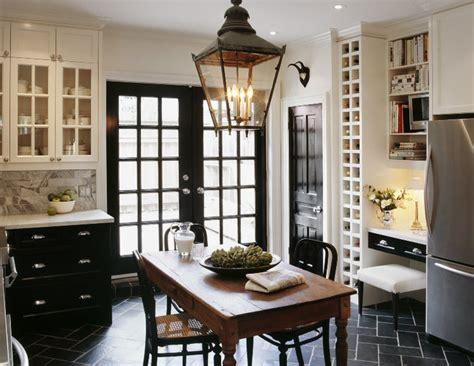 Kitchen Interior Doors Built In Wine Rack Transitional Kitchen