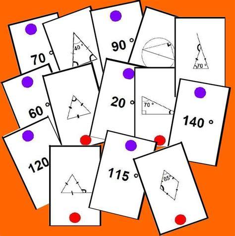 imagenes juegos matematicos secundaria memory de 193 ngulos juegos y matem 225 ticas