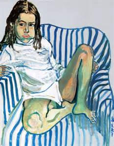 A Striped Armchair Alice Neel 1900 1984 American Gallery 20th Century