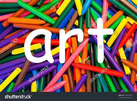 design art signs art sign design art education school stock photo 138641438