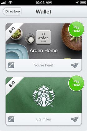 Gift Cards With Square - square s wallet app gains gift cards with passbook integration