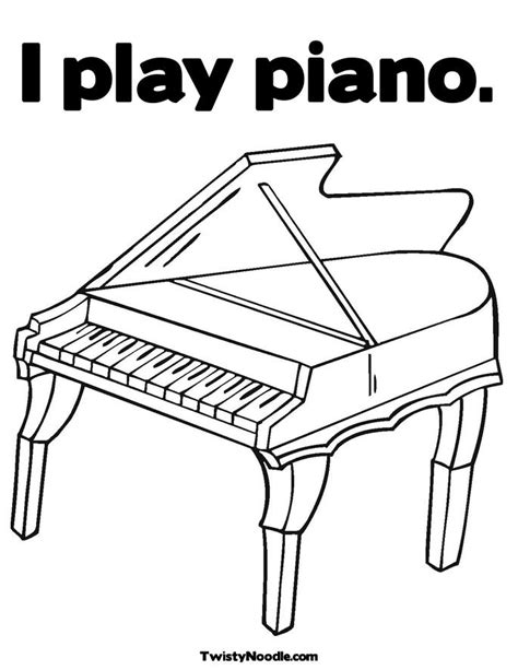 coloring page piano keys free coloring pages of piano keyboard