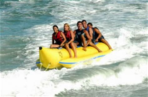 banana boat rides at myrtle beach sc downwind watersports jet ski rentals parasailing stay