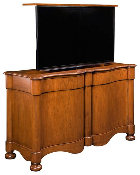 catalan flat screen tv lift cabinet us made pop up tv by