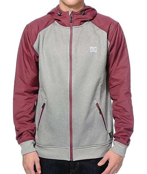 Jaket Flace Dc dc glenbell tech fleece jacket