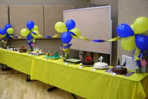 blue and gold decorations cub scout decoration ideas invitations ideas