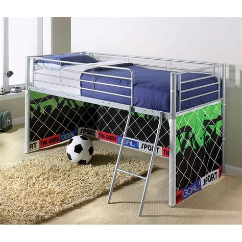 Football Tent For Mid Sleeper by B M Midsleeper Bed Football Children S Bedroom