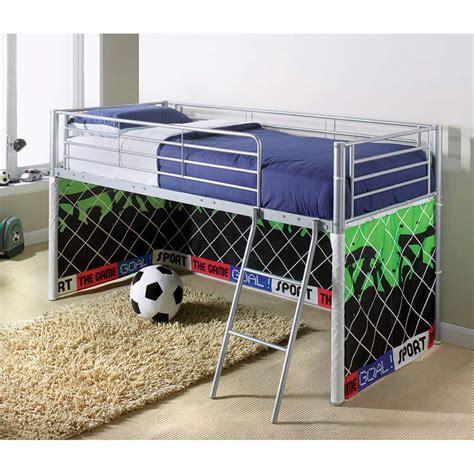 b m wiltshire double bed 319198 b m b m kids midsleeper bed football children s bedroom