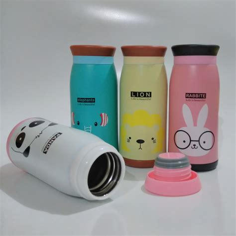 Tumbler Animal by Stainless Tumbler Animal Botol Minum Thermos Karakter