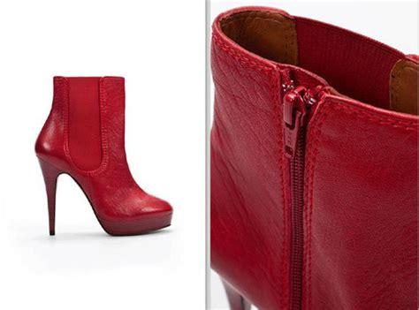 imagenes de botas rojas botas rojas para gordita