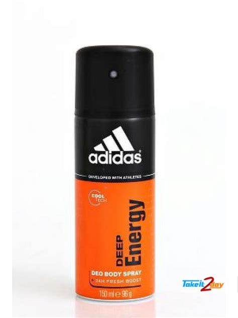 Adidas Deodorant adidas energy touch deodorant spray for 150