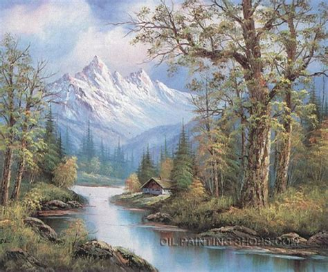 78 images about paintings mountains and streams on