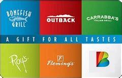 Bloomin Brands Inc Gift Card - check bloomin brands restaurants gift card balance mrbalancecheck