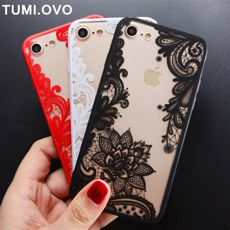 vintage lace flower floral henna mandala palace pc cover for iphone 7 6s 6 plus 5 5s