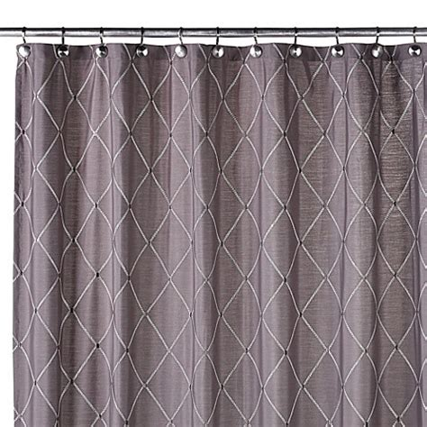 wellington curtains buy wellington shower curtain in grey from bed bath beyond