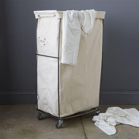 narrow laundry narrow elevated laundry basket on food52