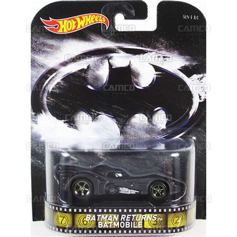 Wheels Hotwheels Retro Bat Mobile Batmobile batman returns batmobile 2015 wheels retro entertainment f bdt77 996f camco toys