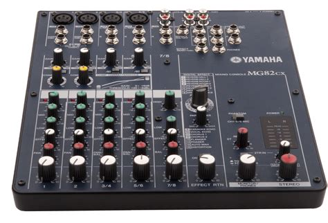 Mixing Console Yamaha Mg82cx yamaha mg82cx audio mixer sound light rental event