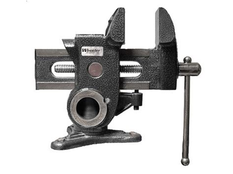 rifle bench vise wheeler engineering gunsmith vise mpn 534007