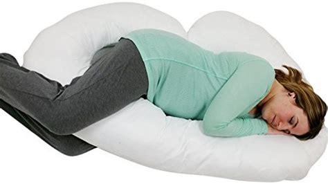 Genie Pregnancy Pillow by J Shaped Premium Contoured Maternity Pillow