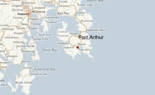 port arthur map port arthur historic site australia location guide