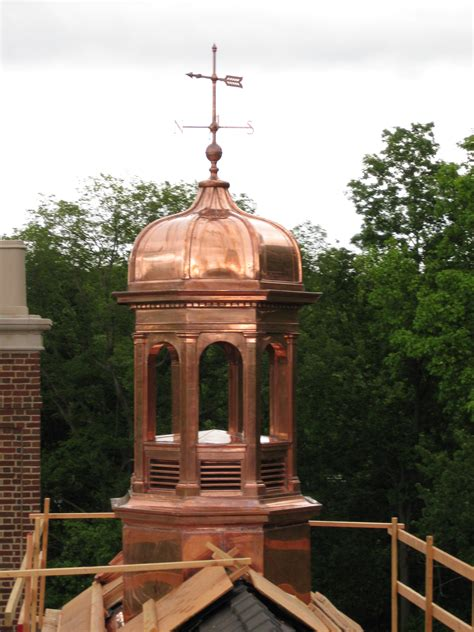 Copper Cupola Tops Ejmcopper Custom Architectural Copper Products