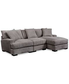 simmons columbia stone sofa with reversible chaise simmons 2057 includes a 2 pc sectional sofa fabric