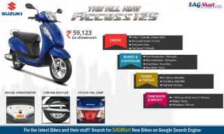 Suzuki Access Parts Price Infographic Of 2016 New Suzuki Access 125 Sagmart