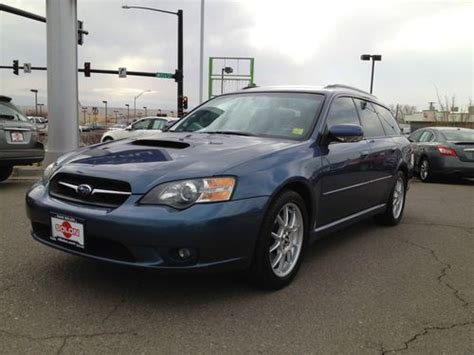 2005 subaru legacy custom buy used 2005 subaru legacy gt wagon hatchback turbo