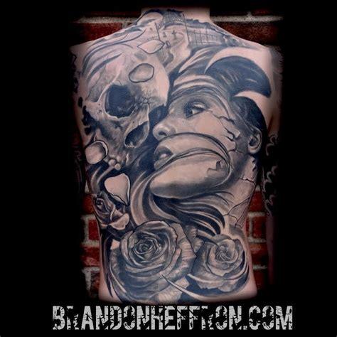 tattoo back death life death back piece by brandon heffron tattoos
