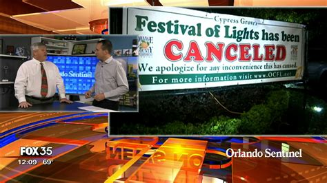 festival of lights orange county orlando now bah humbug it s festival of lights out