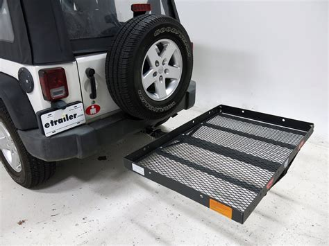 Hitch Cargo Carrier Jeep Wrangler 2012 Jeep Wrangler 31x47 Pro Series Cargo Carrier For