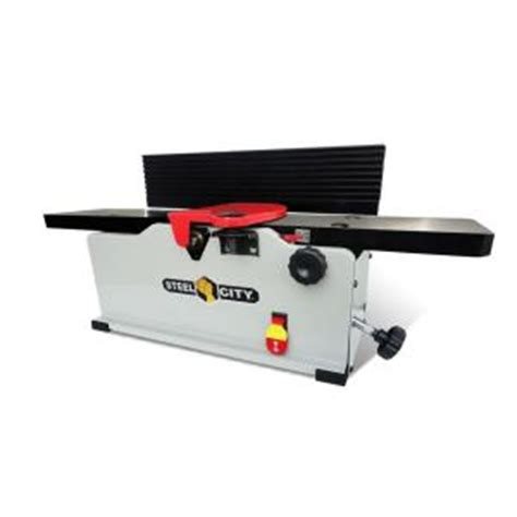 bench top jointer steel city 6 in 1 8 cast iron and helical cutterhead