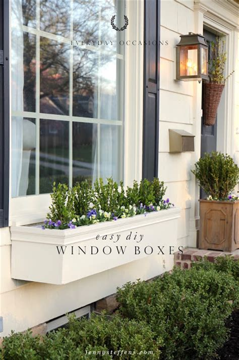 steffens hobick window boxes diy easy flower boxes
