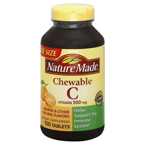 Vitamin Tablet nature made vitamin c 1000 mg tablets 100 tablets health wellness vitamins