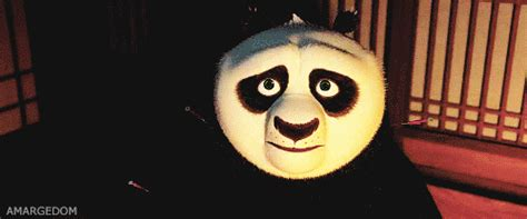Imagenes Gif De Kung Fu Panda | funny face panda gif find share on giphy
