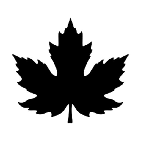 file maple leaf svg nature silhouettes page 2