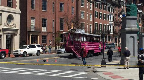 duck boat news duck boat crash in boston kills woman on scooter injures