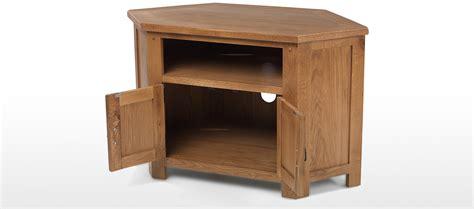 small rustic corner cabinet rustic oak corner tv cabinet quercus living