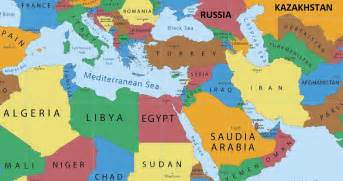 middle east map russia map of turkey and russia