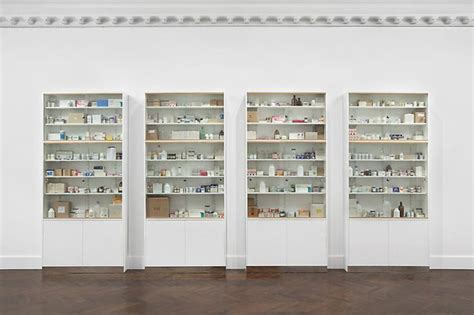 Hirst Medicine Cabinet by Damien Hirst Quot Medicine Cabinets Quot Exhibition Nyc Hypebeast