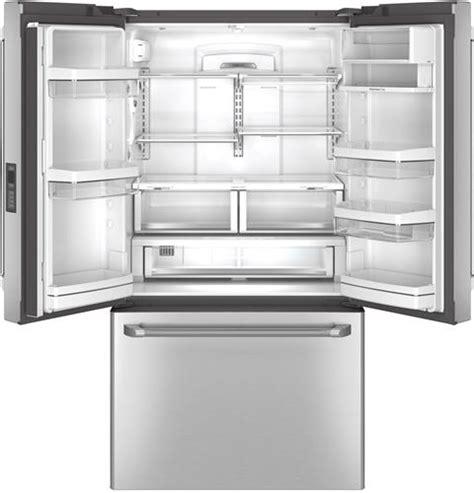 ge cafe refrigerator counter depth door cwe23sshss ge cafe series energy 23 1 cu ft counter