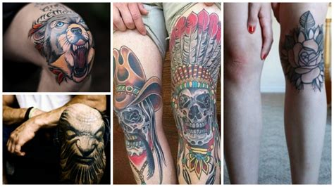 knee tattoo pain 15 most places to get a cultr